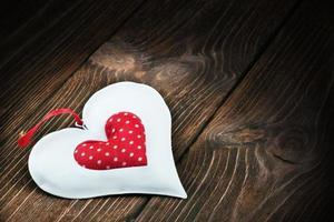 dekoratives Herzspielzeug foto