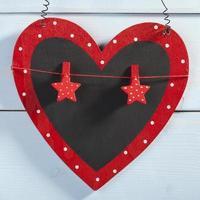 Valentinstag. Herz foto