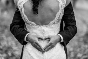 schöne Hochzeitsbraut