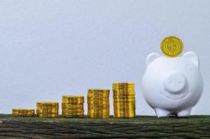 das Konzept, Geld zu sparen