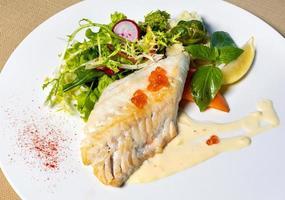 Fischmehl mit Kaviar