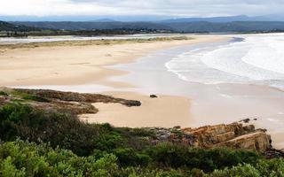Aussichtspunkt Strand, Plettenberg Bay, Südafrika
