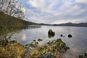 Coniston Water Lake District Cumbria foto