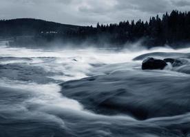Storforsen Wasserfall