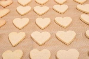 Kekse von Mürbteig foto