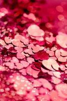 Valentinstag, Hintergrund der Herzen