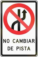 Keine Spurwechsel in Chile