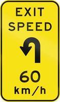 beratende Austrittsgeschwindigkeit in Australien
