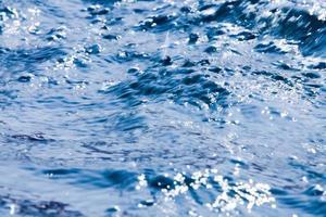 schöne Wasserbewegung