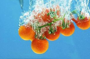 Gemüse in Wasser