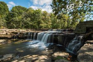 Katarakt Wasserfall von Indiana foto
