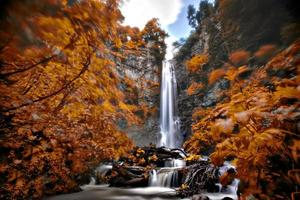 großer Maral Wasserfall Truthahn foto