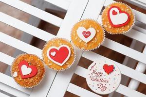 Valentinstag Muffins foto