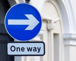 ein Weg nach rechts