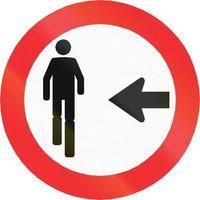 Fußgänger benutzen andere Kreuzungen in Chile foto
