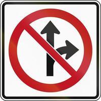 kein Straight oder Right in Kanada