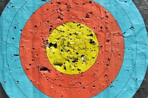 Bogenschützenziel foto