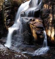 Gerinne Schlucht Wasserfall foto
