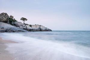 sai noi beach hua hin. foto