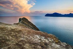 schöne Seelandschaft