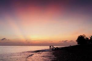 Morgendämmerung in Bali