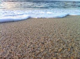 Sand und Wellenhintergrund