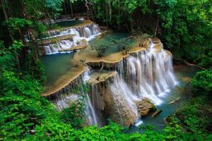 Wasserfallstufen foto