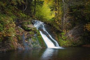 magischer Wasserfall foto