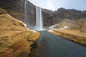 Seljalandsfoss Wasserfall foto