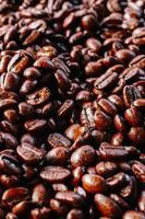 Kaffeebohnen Textur