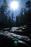 Landschaft auf Tioga Pass Road