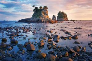 japanische Küste foto