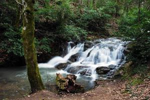 kaskadierendes Wasser foto
