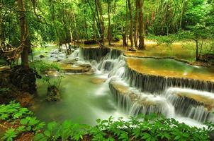 Huay Mae Khamin Wasserfall foto