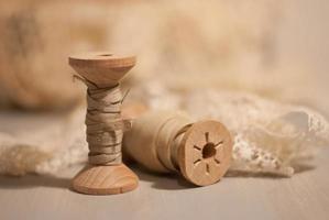 Holzspule