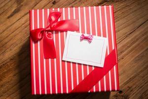 schönes Geschenk foto