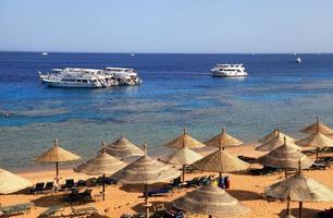 Strand am Roten Meer, Sharm El Sheikh, Ägypten