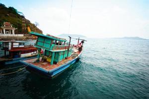 lokales Fischerboot nam du, vietnam.