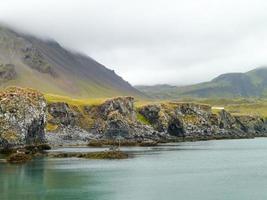 isländische Küste