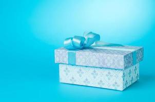 schöne Geschenkbox foto