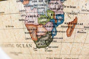 Globus Afrika foto