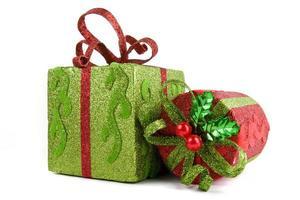Weihnachtsgeschenkkoffer foto