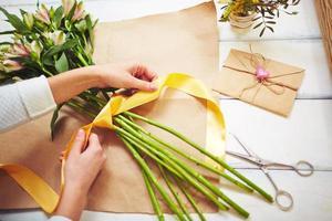 Design von Blumenstrauß