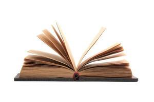 geöffnetes Buch foto