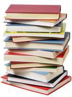 Bücher stapeln foto