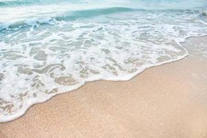 Meereswelle am Strand foto
