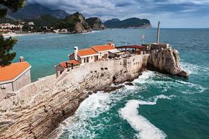 Fort auf der Insel