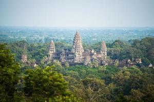 Angkor Wat das Welterbe in Kambodscha foto