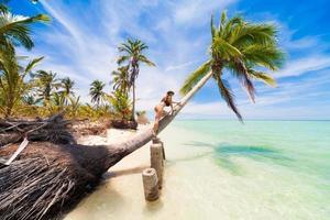 Tag tropisches Meer foto
