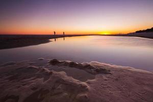 schöner Sonnenuntergang über Ostsee